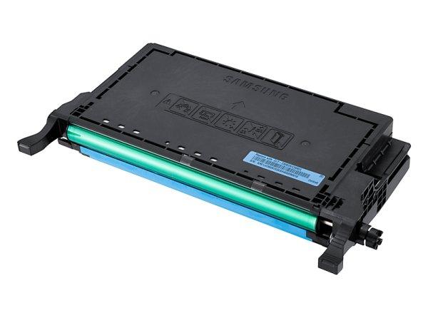 Original Samsung CLP-670 Series (CLT-C5082L/ELS / C5082L) Toner Cyan mit Karton