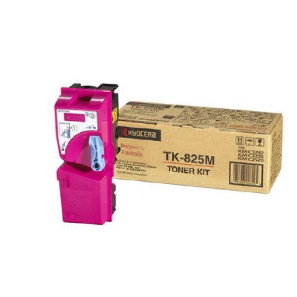 Original Kyocera KM-C 3232 (1T02FZBEU0 / TK-825M) Toner Magenta mit Karton
