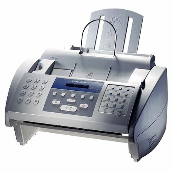 Die Abbildung zeigt einen Telekom T-Fax 5500 Drucker