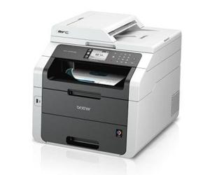 Die Abbildung zeigt einen Laserdrucker von Brother