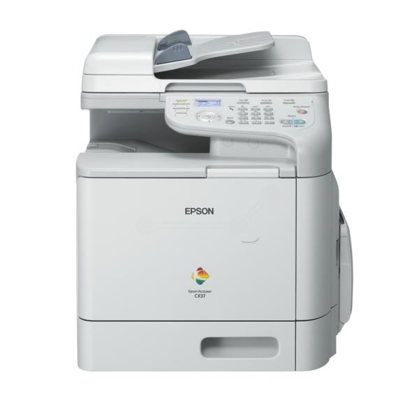 Die Abbildung zeigt einen Epson Aculaser CX 37 DNF Drucker