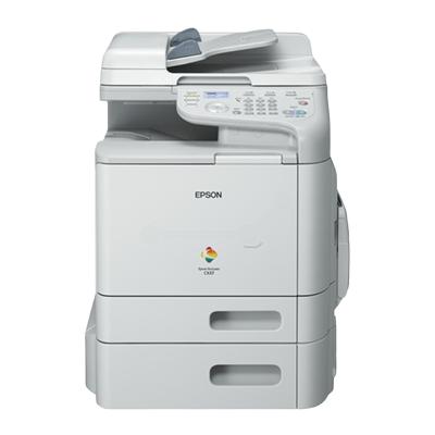 Die Abbildung zeigt einen Epson Laserdrucker