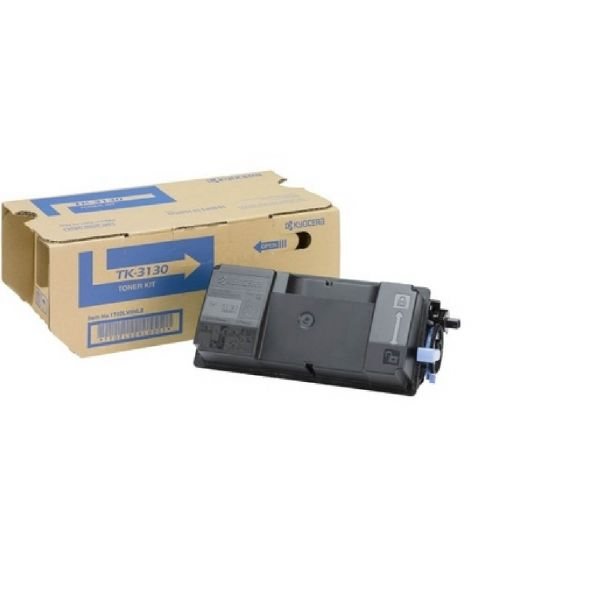 Original Kyocera FS-4200 DN (1T02LV0NL0 / TK-3130) Toner Schwarz mit Karton