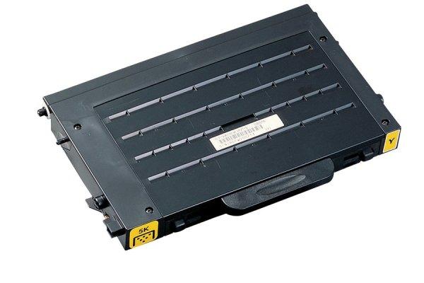 Original Samsung CLP-510 (CLP-510D5Y/ELS) Toner Gelb mit Karton