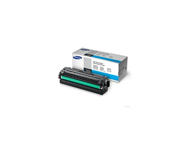 Original Samsung CLX-6260 FW Premium Line (CLT-C506L/ELS / C506L) Toner Cyan mit Karton