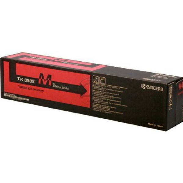 Original Kyocera TASKalfa 5550 ci (1T02LCBNL0 / TK-8505M) Toner Magenta mit Karton