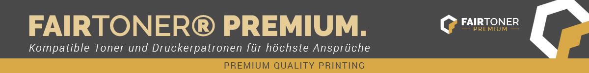 Banner FairToner Premium Toner und Druckerpatronen