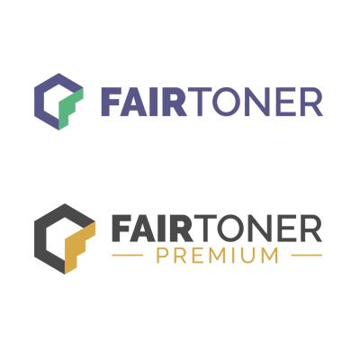 Die Abbildung zeigt die Logos der FairToner Eigenmarke und der FairToner Premium Produktlinie