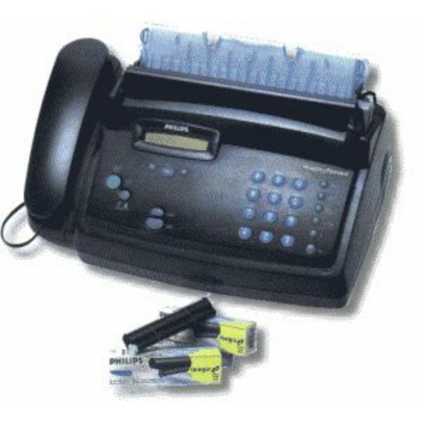 Die Abbildung zeigt einen Philips Fax Magic Office Drucker