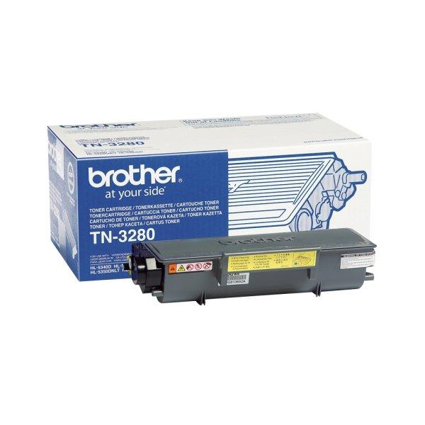 Original Brother DCP-8070 D (TN-3280) Toner Schwarz mit Karton