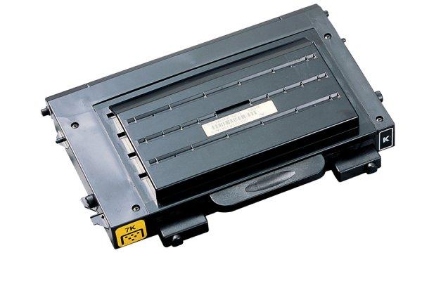 Original Samsung CLP-515 N (CLP-510D7K/ELS) Toner Schwarz mit Karton