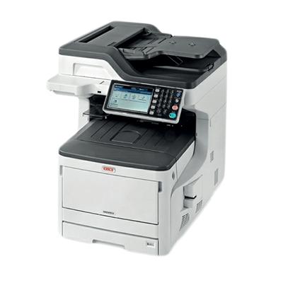 Die Abbildung zeigt einen OKI Laserdrucker