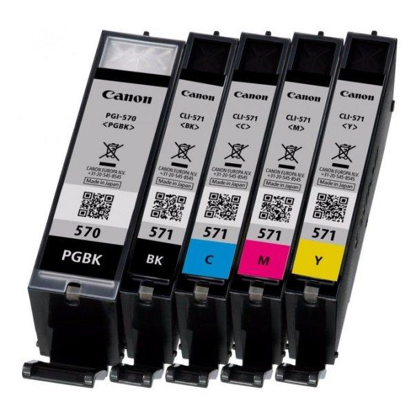Druckerpatronen in verschiedenen Farben