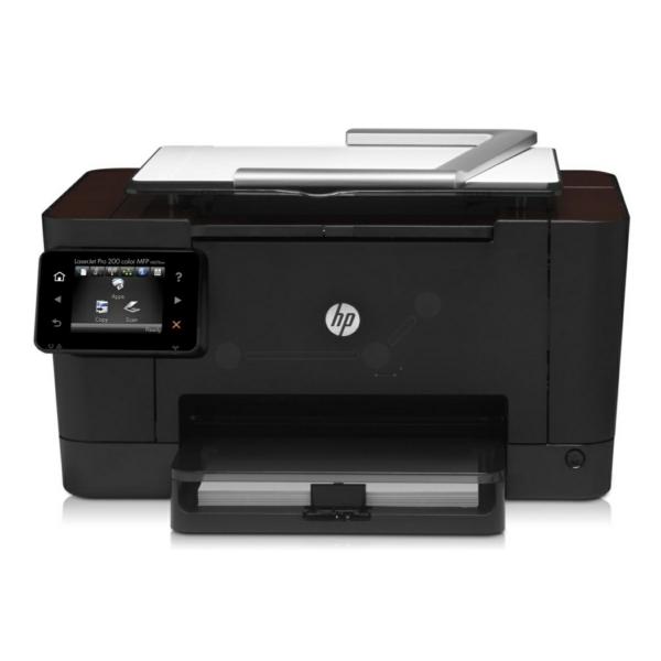 Die Abbildung zeigt einen HP TopShot LaserJet Pro M 270 Series Drucker