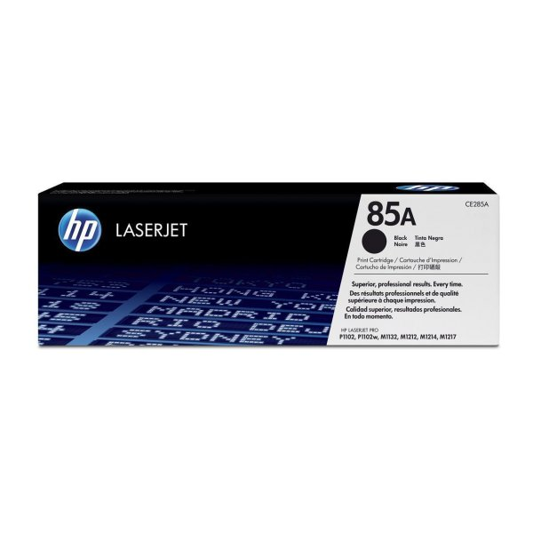 Original HP LaserJet Professional P 1102 (CE285A / 85A) Toner Schwarz mit Karton