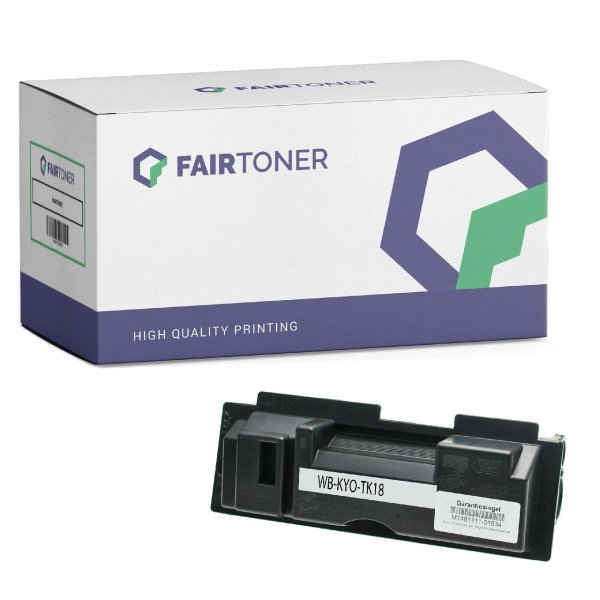 Kompatibel zu Kyocera FS-1118 F MFP (1T02FM0EU0) Toner Schwarz
