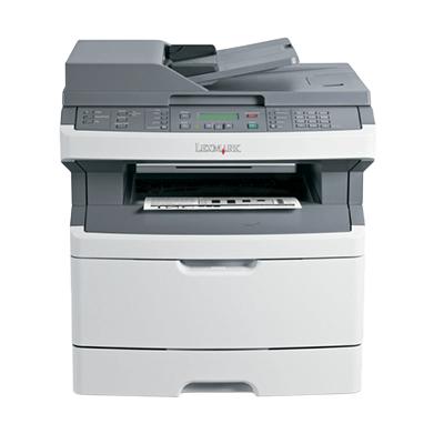 Die Abbildung zeigt einen Lexmark Drucker