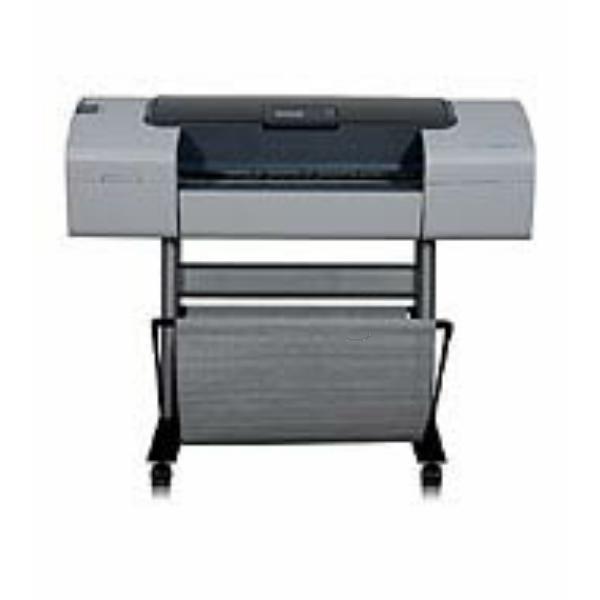 Die Abbildung zeigt einen HP DesignJet T 1100 PS 24 Inch Drucker