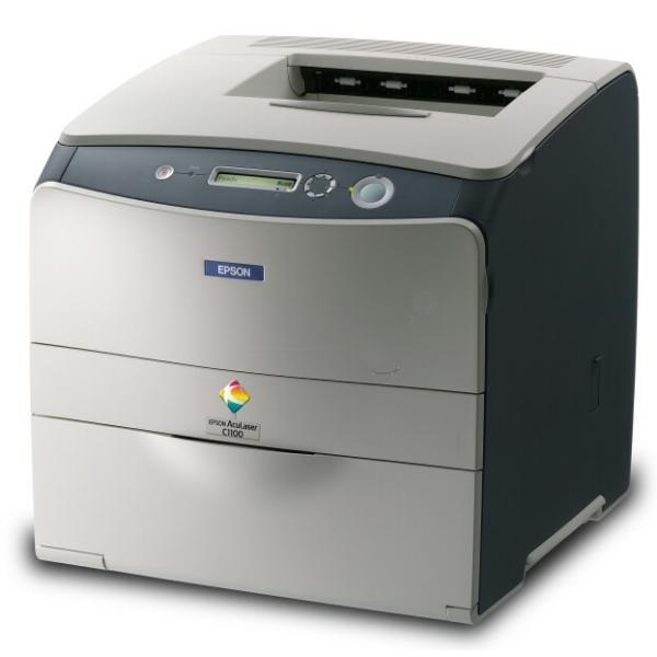 Die Abbildung zeigt einen Epson Aculaser C 1100 N Drucker