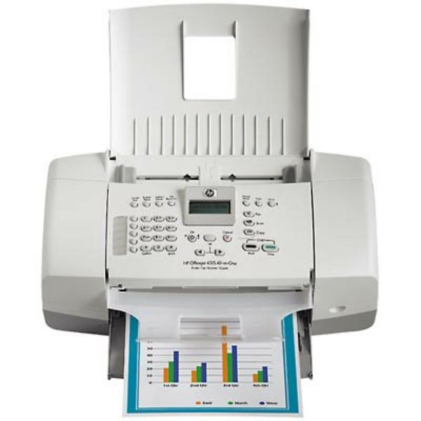 Die Abbildung zeigt einen HP OfficeJet 4315 Drucker