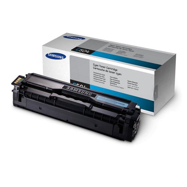 Original Samsung Xpress SL-C 430 W (CLT-C404S/ELS / C404C) Toner Cyan mit Karton