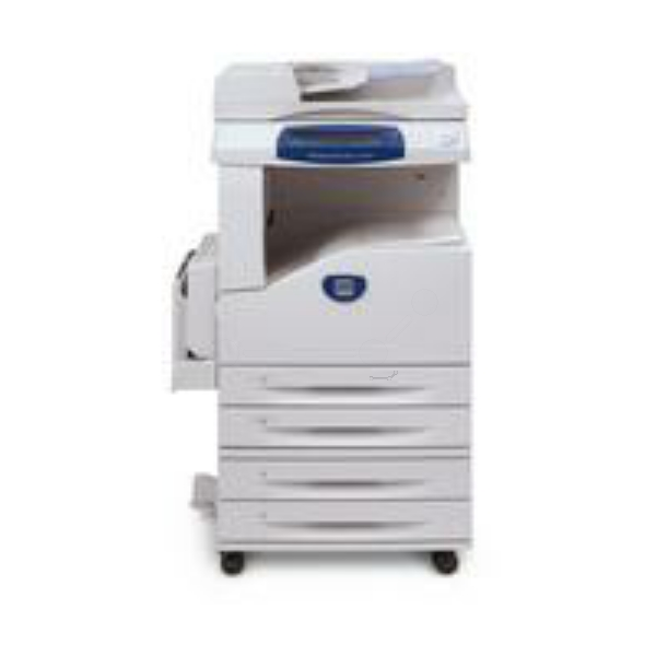Die Abbildung zeigt einen Xerox WorkCentre 5222 Kpfe Drucker