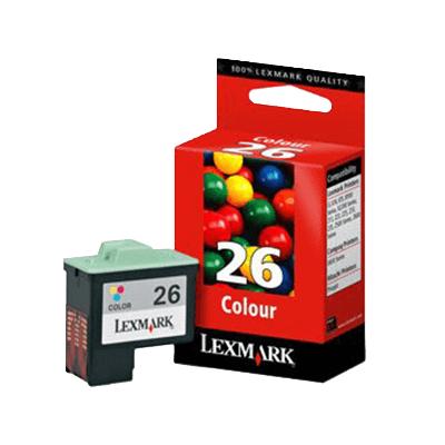 Die Abbildung zeigt Lexmark Druckerpatronen (original)