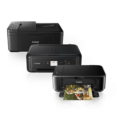 Die Abbildung zeigt Canon Tintenstrahldrucker