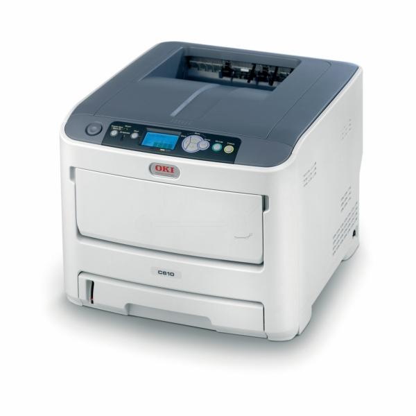 Die Abbildung zeigt einen OKI C 610 DM Drucker