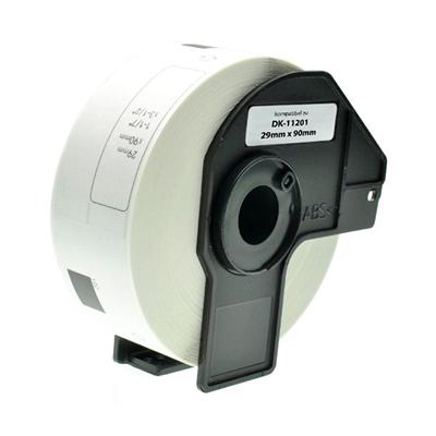 Die Abbildung zeigt kompatible Etiketten für Etikettendrucker