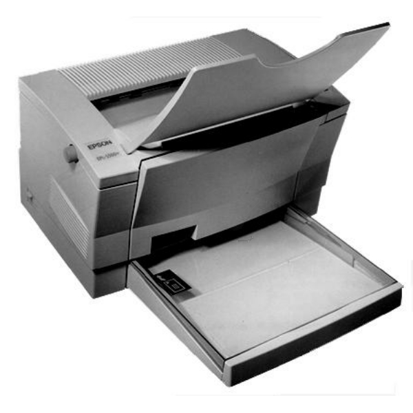 Die Abbildung zeigt einen Epson EPL 5500 W Drucker