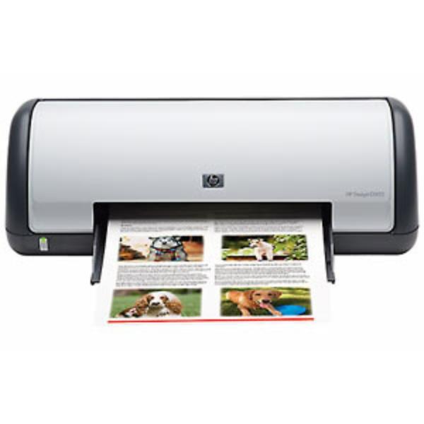 Die Abbildung zeigt einen HP DeskJet D 1445 Drucker