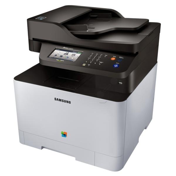 Die Abbildung zeigt einen Samsung Xpress C 1860 Series Drucker