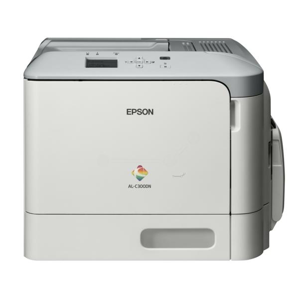 Die Abbildung zeigt einen Epson Workforce AL-C 300 DN Drucker