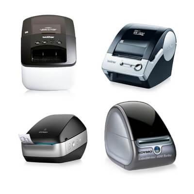 Die Abbildung zeigt Etikettendrucker