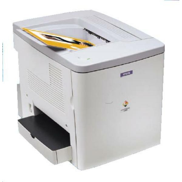 Die Abbildung zeigt einen Epson Aculaser C 900 N Drucker