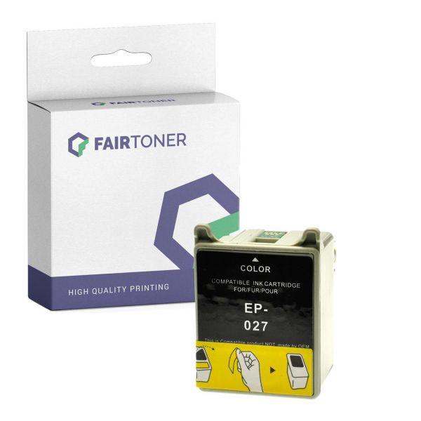 Kompatibel für Epson C13T02740110 / T027 Druckerpatrone Photo mit Karton