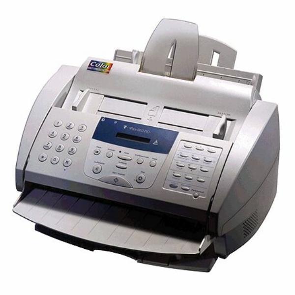 Die Abbildung zeigt einen Telekom T-Fax 363 PC Drucker