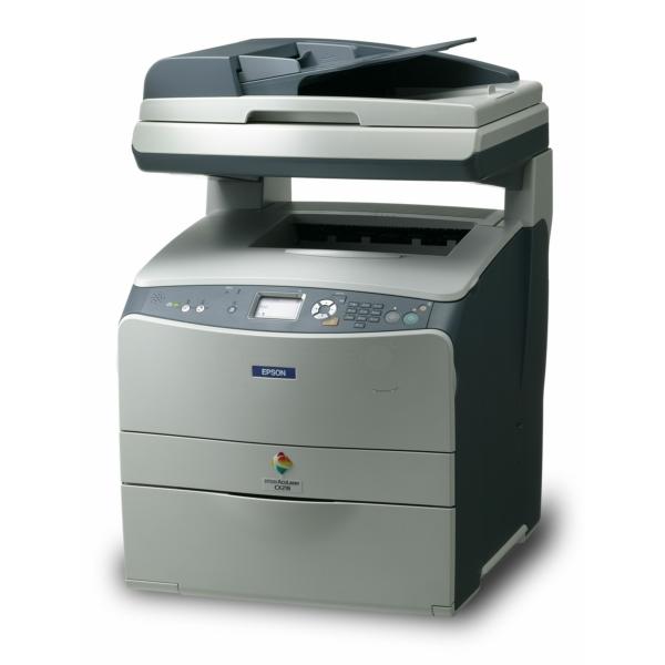 Die Abbildung zeigt einen Epson Aculaser CX 21 N Drucker
