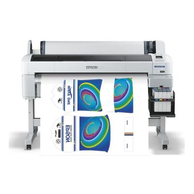 Die Abbildung zeigt einen Großformatdrucker