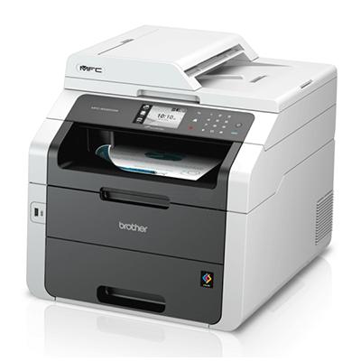 Die Abbildung zeigt einen Brother Drucker