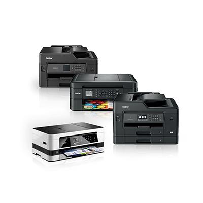 Die Abbildung zeigt Brother Tintenstrahldrucker