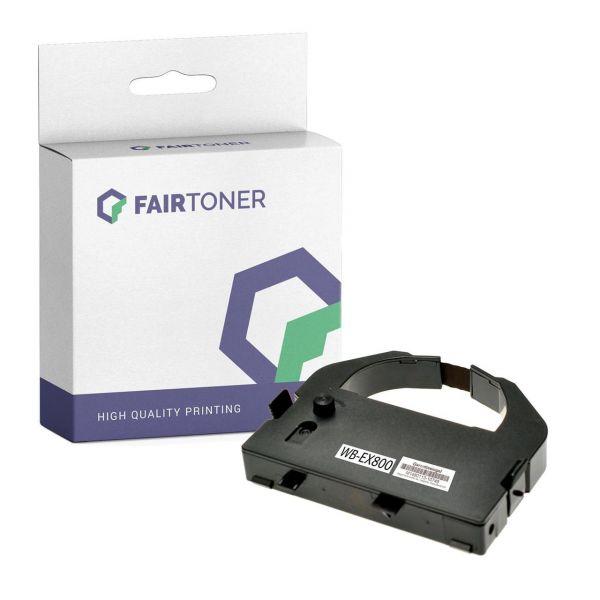 Kompatibel für Epson C13S015054 / 8763 Farbband Schwarz mit Karton