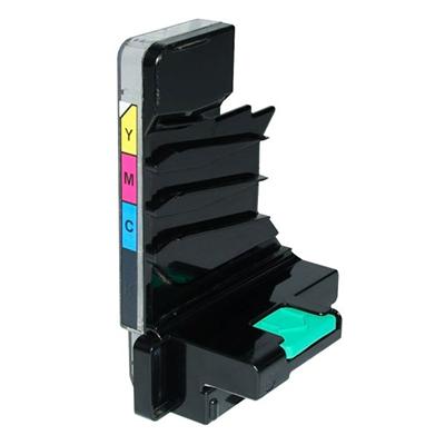 Die Abbildung zeigt einen kompatiblen Resttonerbehälter für Laserdrucker