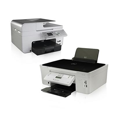 Die Abbildung zeigt Dell Tintenstrahldrucker