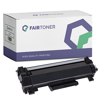 Die Abbildung zeigt eine kompatible Tonerkartusche der FairToner Eigenmarke
