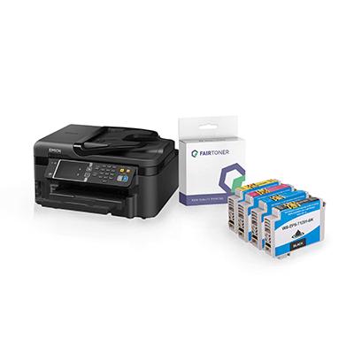 Die Abbildung zeigt einen Epson Tintenstrahldrucker