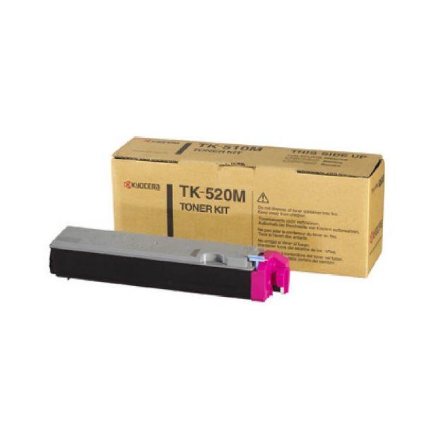 Original Kyocera FS-C 5015 N (1T02HJBEU0 / TK-520M) Toner Magenta mit Karton