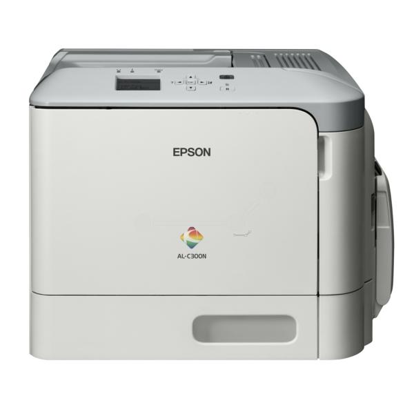 Die Abbildung zeigt einen Epson Workforce AL-C 300 N Drucker