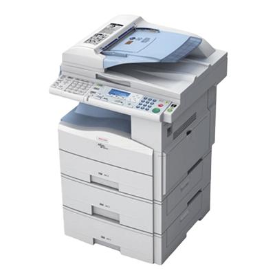 Die Abbildung zeigt einen Ricoh Drucker